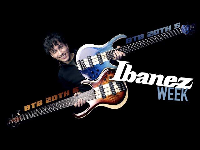 IBANEZ WEEK 2019 - BTB20TH6 e BTB20TH5 Demo Review (ITA)