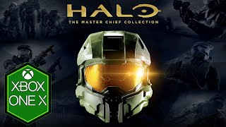 Halo The Master Chief Collection Xbox One X Gameplay Review