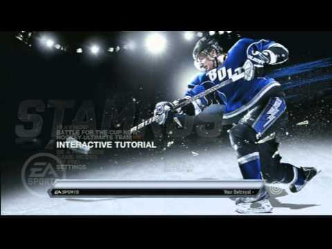 Прохождение демоверсии NHL 11 [1/2]