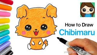 How to Draw a Cute Puppy | Sanrio Chibimaru
