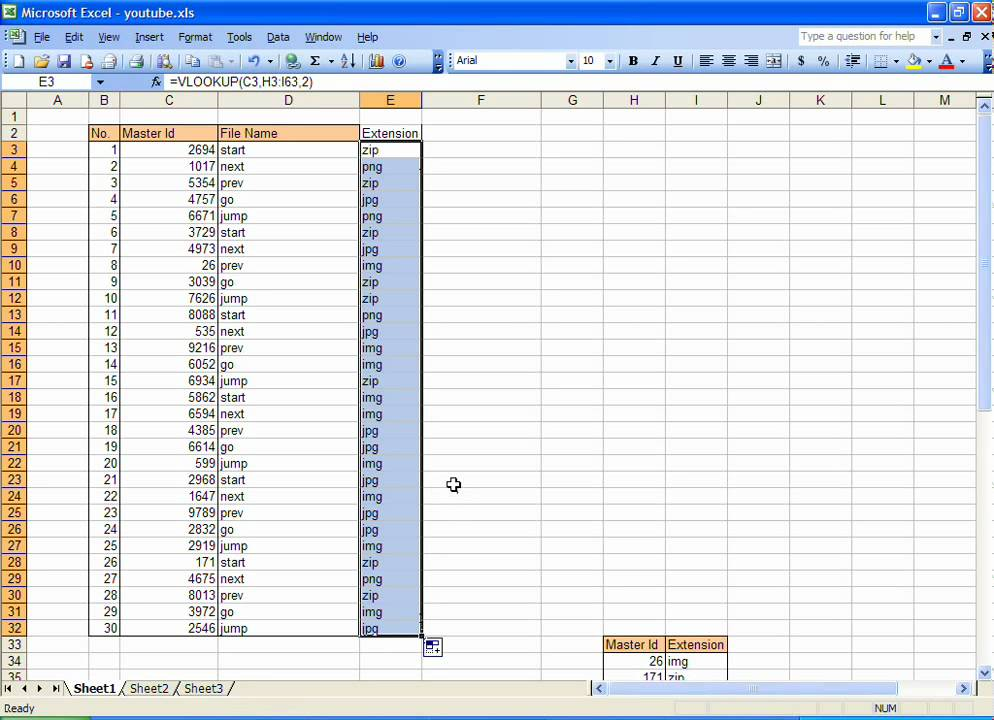 data mapping excel template