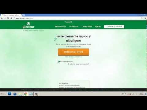 Como instalar y utilizar uTorrent