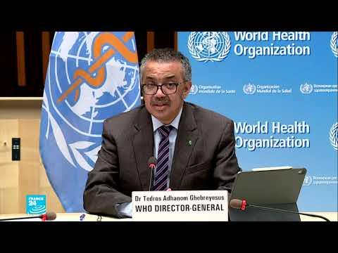 منظمة الصحة العالمية تدعو لتعليق حقوق براءات اختراع آليات مكافحة جائحة فيروس كورونا  - 11:59-2021 / 3 / 7