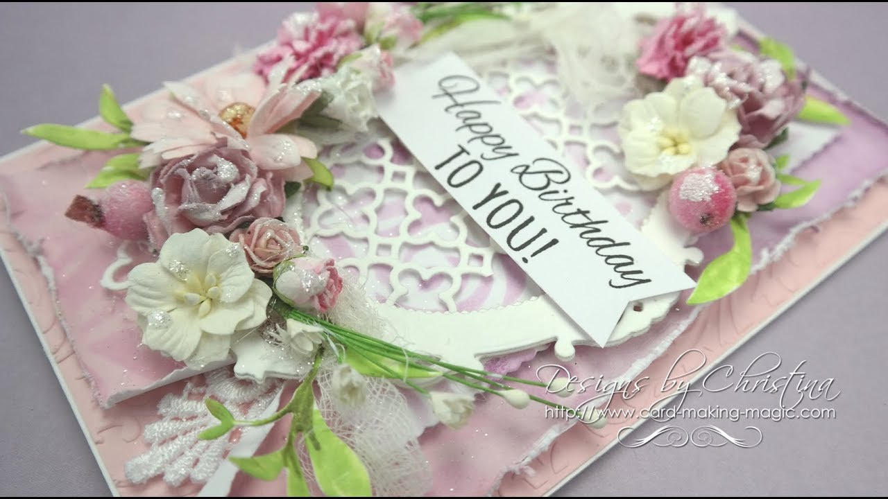 Shabby Chic With Card Making Magic