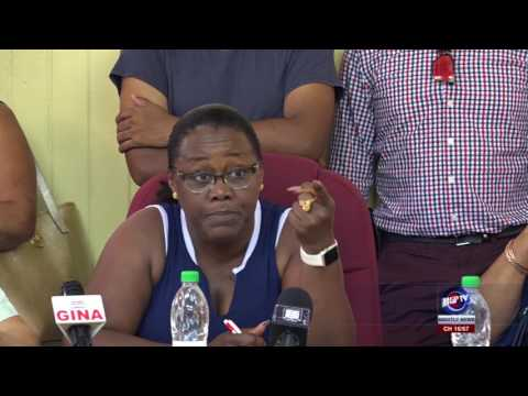 MIN  BROOMES UNHAPPY WITH GGMC'S LAND MANAGEMENT