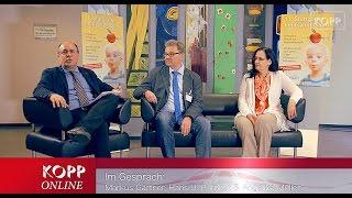 Im Gespräch mit Hans Tolzin und Angelika Müller am Rande des 11.Stuttgarter Impfsymposiums