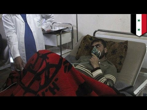 Syria poison gas attack: US says Assad forces dropped deadly chlorine gas from helicopters