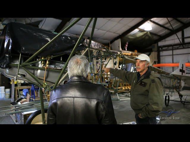Fokker D-VII Project Visit