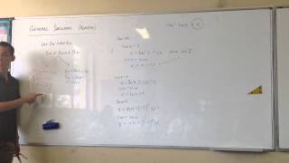 General Solution - Modified Formulae