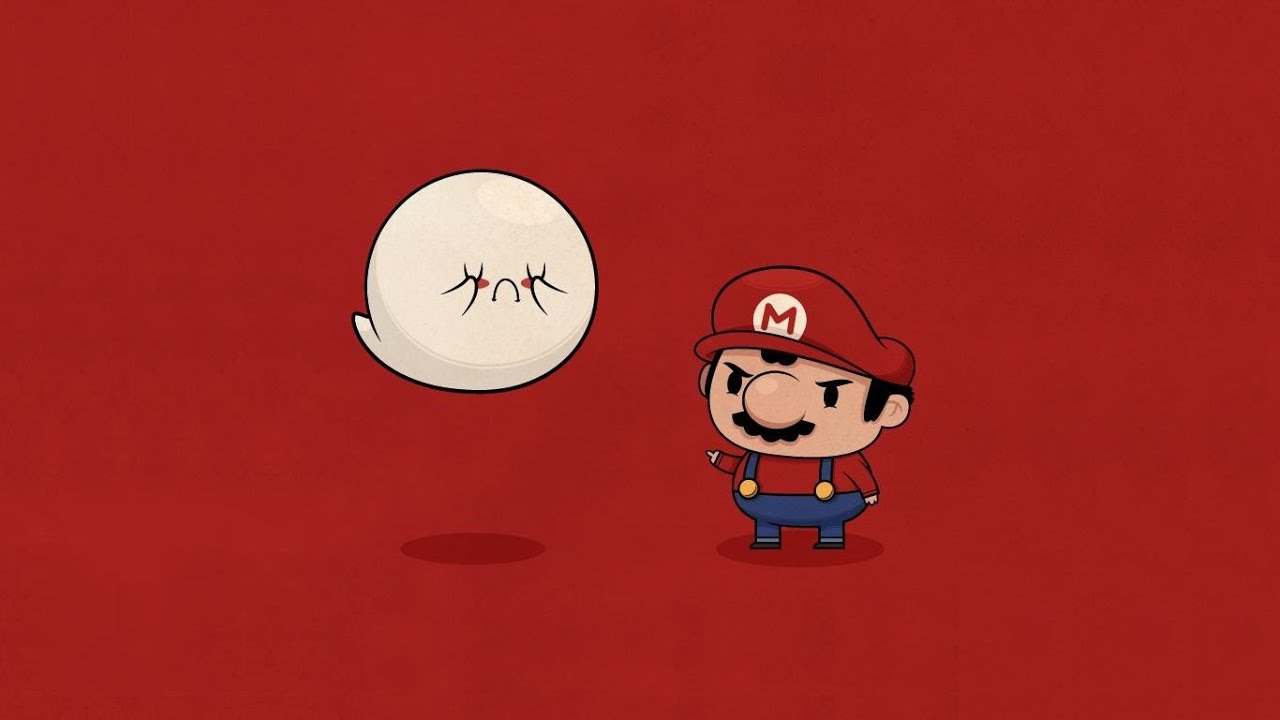 Hd Wallpaper Spoopy Super Mario Maker Challenge Youtube