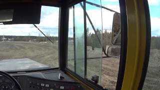 volvo bm a25c articulated dump truck being loaded by volvo ec300