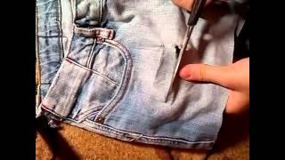 Как из джинс сделать шорты...(, 2015-07-09T17:22:01.000Z)