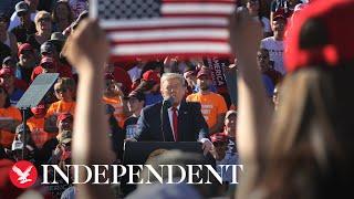 Watch again: Trump campaigns in Goodyear, Arizona