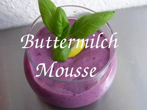 hcg 21 tage di t buttermilch mousse mit brombeeren youtube. Black Bedroom Furniture Sets. Home Design Ideas
