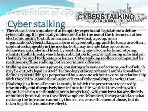 Cyber crime & cyber law.