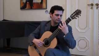 Marcos Victora Wagner plays Alberto Ginastera: Sonata for guitar op. 47