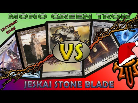 Mono Green Tron VS Jeskai Stoneblade: Down to 2 Life!!!