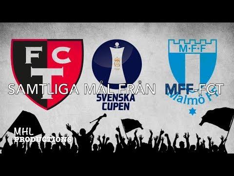 FC TROLLHÄTTAN–MALMÖ FF   ALL GOALS   SVENSKA CUPEN 2017