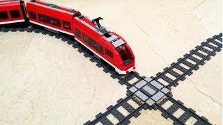 كيفية إنشاء قطار ليغو X-الصليب
