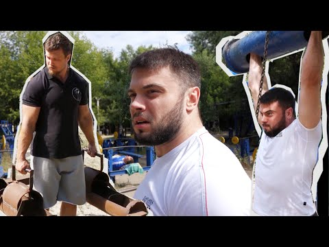 Weightlifting & Strongman  - [ENG SUB] - TOROKHTIY & KONYUSHOK / Гидропарк перезагрузка