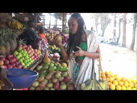 African Vegan | Shopping at a Market in Kenya