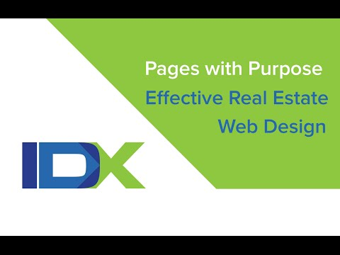 Pages with Purpose - Effective Real Estate Web Design
