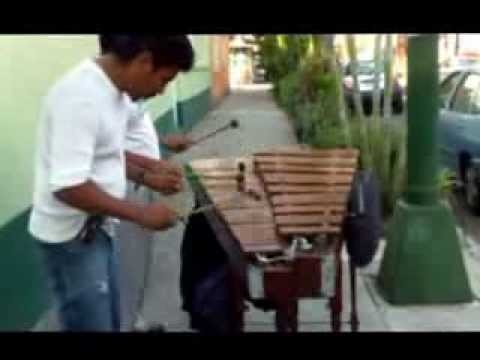 People are awesome; Marimba Musical Instrument; Mexico's street musicians