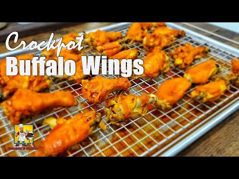 Easy Buffalo Wings | Crockpot Recipes | Game Day Food
