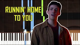 Runnin' Home To You - The Flash: Duet [Synthesia Piano Tutorial]