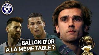 Ballon d'Or : Griezmann mange-t-il vraiment à la table de Messi et Ronaldo ?