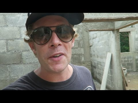 BUILDING A CONCRETE BLOCK HOUSE IN THE CARIBBEAN -VLOG