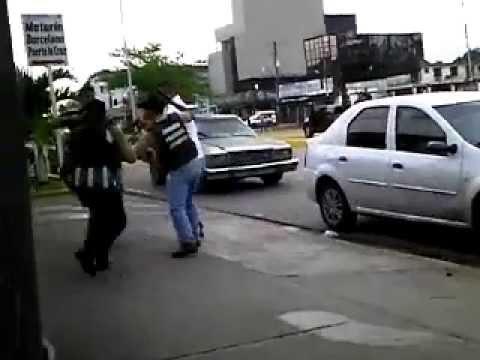 Enfrentamiento entre efectivos de seguridad en Punta de Mata  Edo Monagas