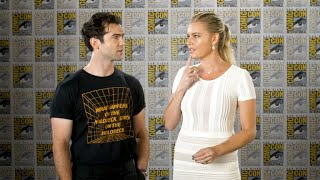 SDCC 2019: Ethan Peck And Rebecca Romijn On Reprising Roles For Star Trek: Short Treks