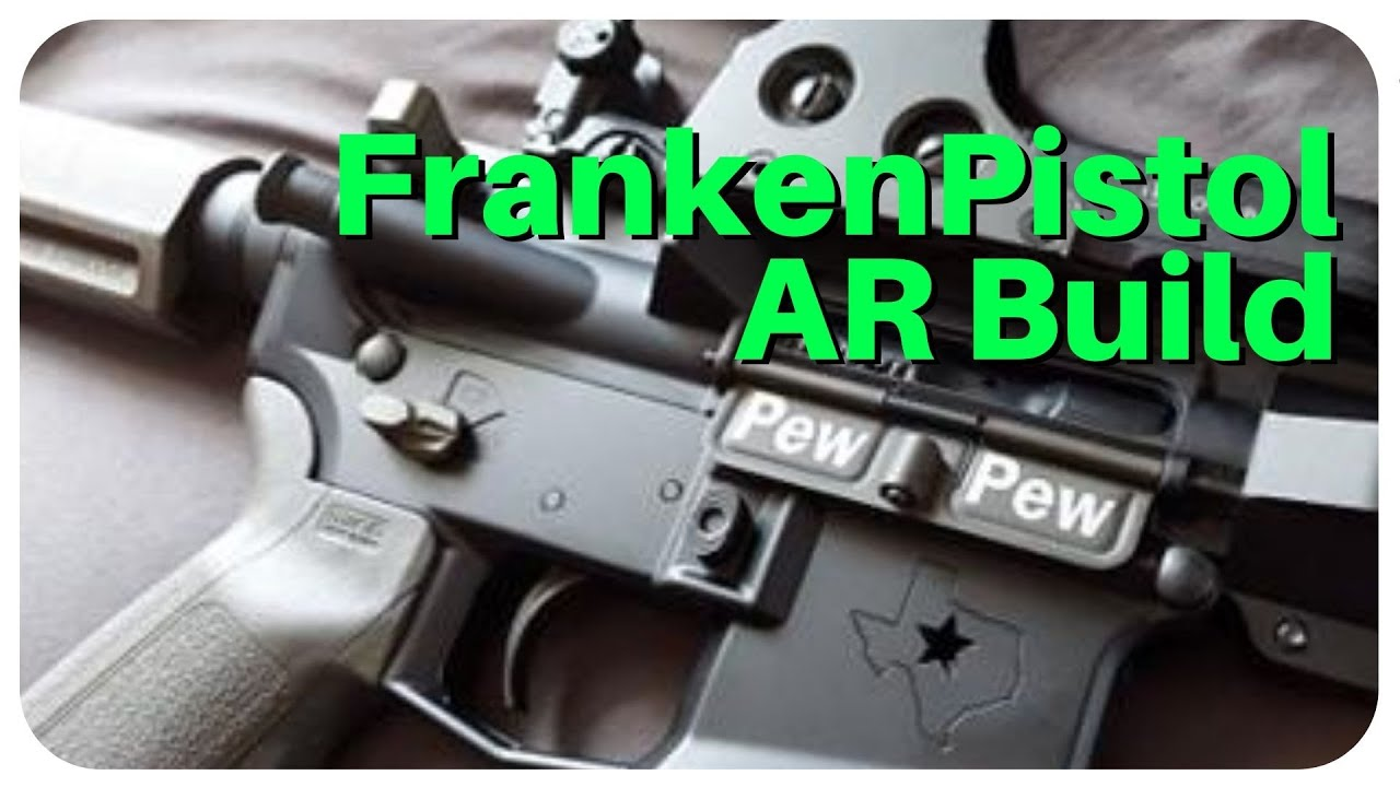 Awesome FrankenAR Pistol Build! - PSA/Aero Precision with Radian Talon Selector Raptor KAK Brace