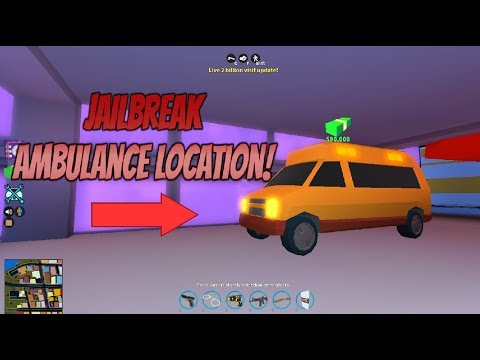 Roblox Jailbreak 2 Billion Visit Update Where Is The Ambulance In Jailbreak Roblox Youtube