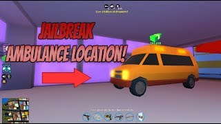 Roblox Jailbreak 2 Billion Visit Update| Where Is The Ambulance In Jailbreak Roblox!