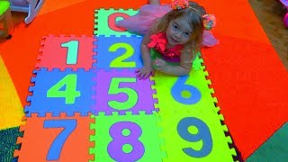 The Number Song | Nursery Rhymes for Kids by Anabella Show | Invatam numerele