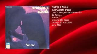 andrea e nicole   buonanotte amore 1977