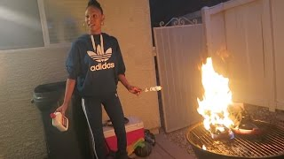 Crazy Girlfriend Burned My OG BRED 11's PRANK (TOO REAL TO BE A PRANK????
