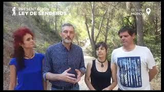 Ley de Senderos de Podemos Región de Murcia