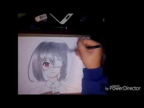 Fanart Misaki Mei (Another) - Speed Drawing