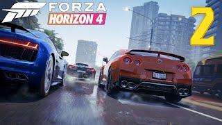 Forza Horizon 4 #2 - Porsche Cayman GT4 i Jaguar XE-S - Multum Samochodów