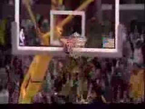 Kobe Bryant dunks : Ill whip ya head boy