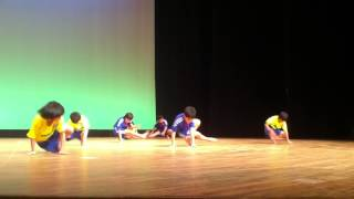 Capoeira Corrente Negra Japan Dance Performance (KIDS Soccer )