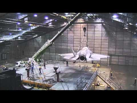 Behind the Scenes with an F-35 Test Pilot in the Climatic Chamber