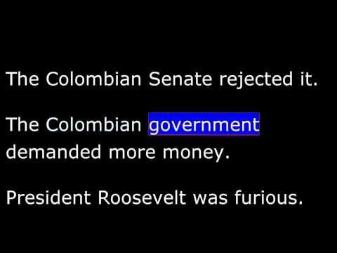 American History - Part 144 - T Roosevelt - Seals Panama Canal Deal - National Parks