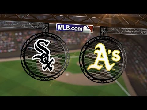 5/14/14: Abreu's homer lifts White Sox over Athletics