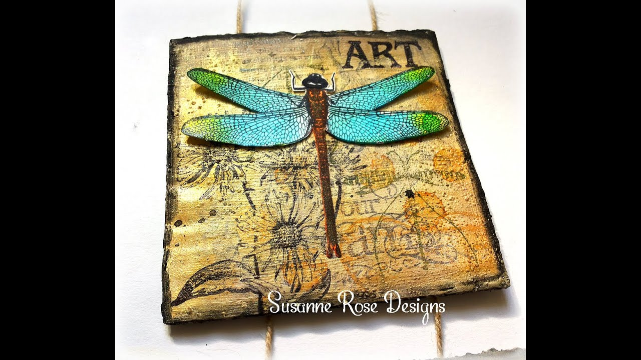 Mixed Media Wall Hanger with Art Anthology - YouTube