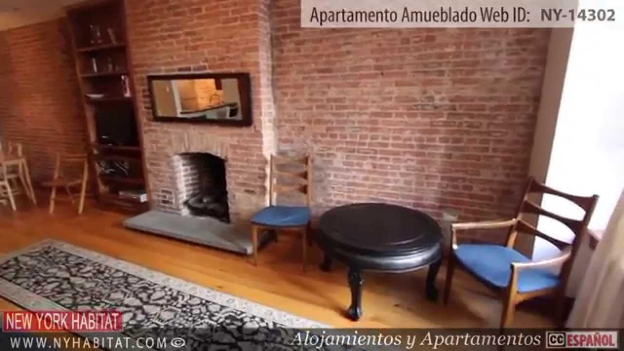 Visita virtual de un apartamento de 2 dormitorios amueblado en harlem manhattan nueva york - Apartamentos en nueva york centro ...