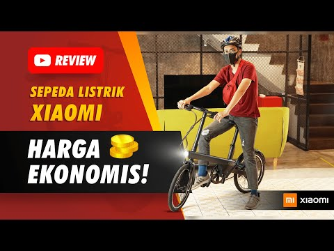 Sepeda Xiaomi QiCycle EC1 - Unboxing & Spesifikasi | Full Review Indonesia | JakReview